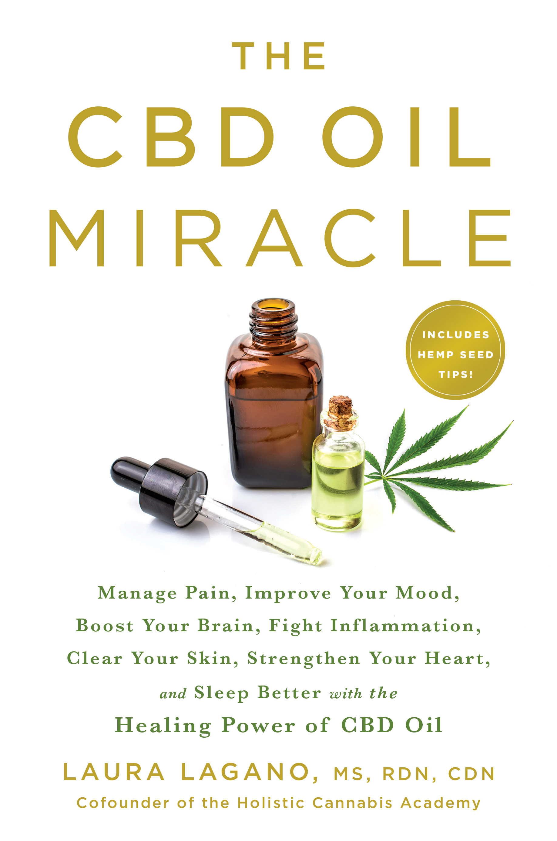 Book cover for The CBD Oil Miracle